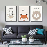 'Little Creatures' - Kids Canvas Art Prints