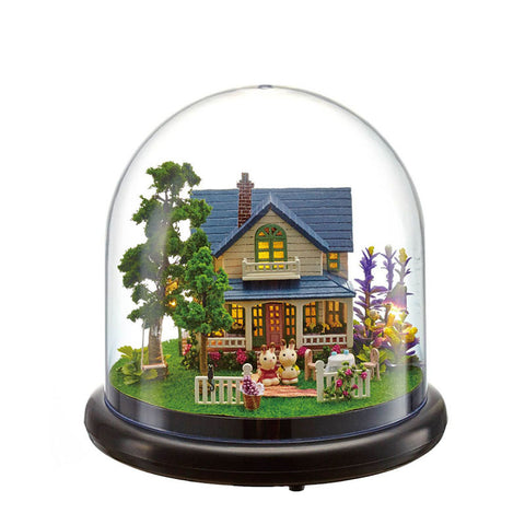 DIY Miniature Dome - 'Romantic Manor'