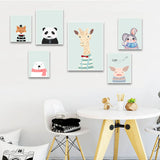 Portraits of 'Animal Friends' - Canvas Art Prints