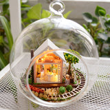 DIY Miniature Glass Bauble - 'Pandora's Magic Garden'