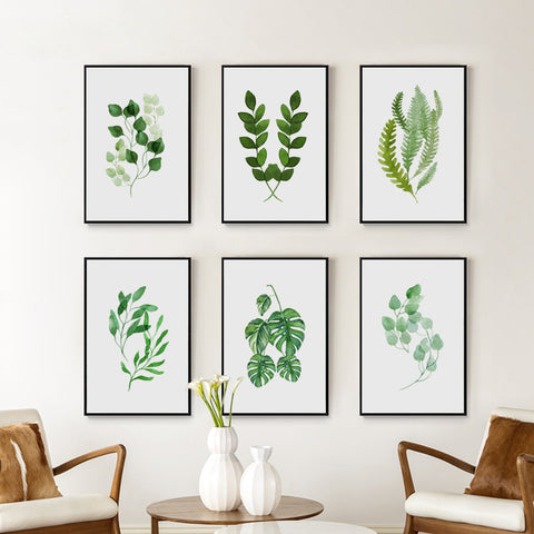 'Botanica' Watercolour Series - Canvas art prints