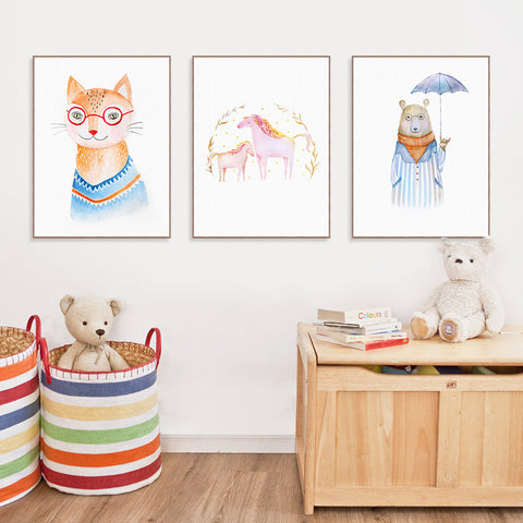 'Imaginarium' - Kids Canvas Art Prints