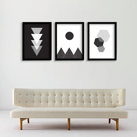 'Geo' Series - Canvas art prints