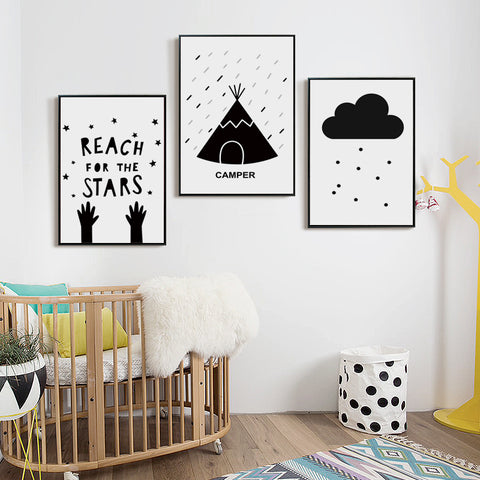 'Lil' Adventurer' - Kids Canvas Art Prints
