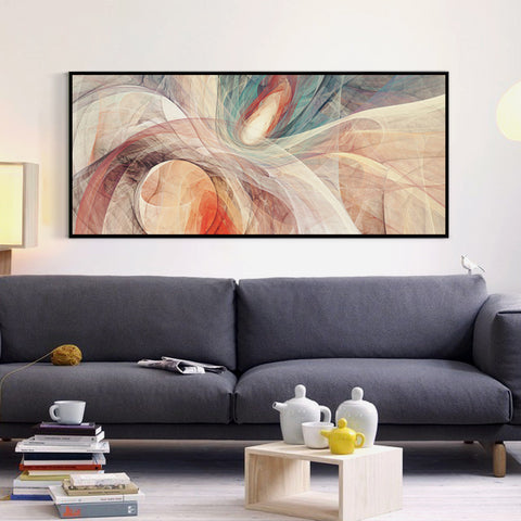 'Abstraction' - Canvas Art Print