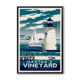 'American Coastal' - Canvas Art Prints