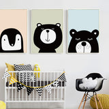 'Peek-A-Boo' - Kids Canvas Art Prints