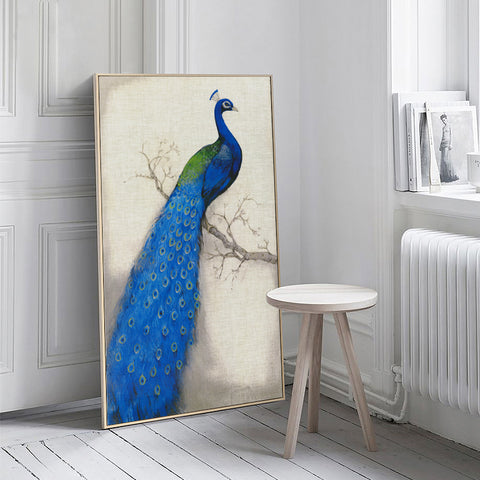 'Peacock' - Canvas Art Prints
