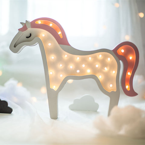 'Unicorn'- Wooden Night Light