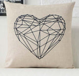 'Geo-Prints' - Cotton Cushion Cover Collection
