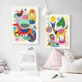 'Happiness' - Kids Canvas Art Prints
