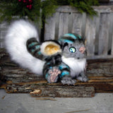 Inspired by Cheshire Cat from Alice in Wonderland - OOAK doll - Nafantano