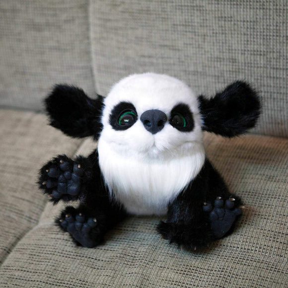 Fantasy Beast inspired by Panda - OOAK doll - Nafantano