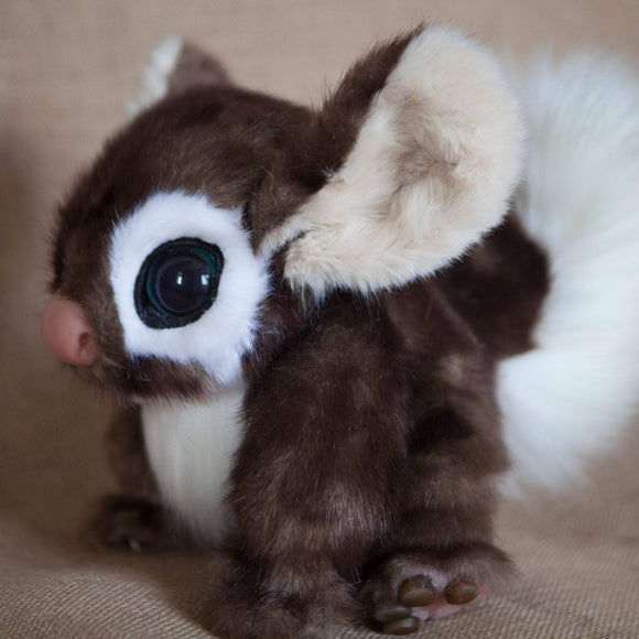Handmade Realistic Fantasy Beast Inspired by Stitch from Disney's