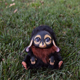 Dog Cat Creature, Fantasy Doll Animal, Furry Creature Puppy, Cute Creatures, Cute Fantasy Plush, Plush Fantasy Animals, Dog Gifts for Her - Nafantano