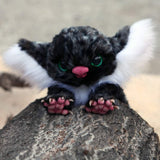 Inspired by Gremlins fantasy creature - OOAK doll - Nafantano
