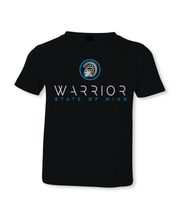 Warrior State of Mind Black Statue Youth T-Shirt
