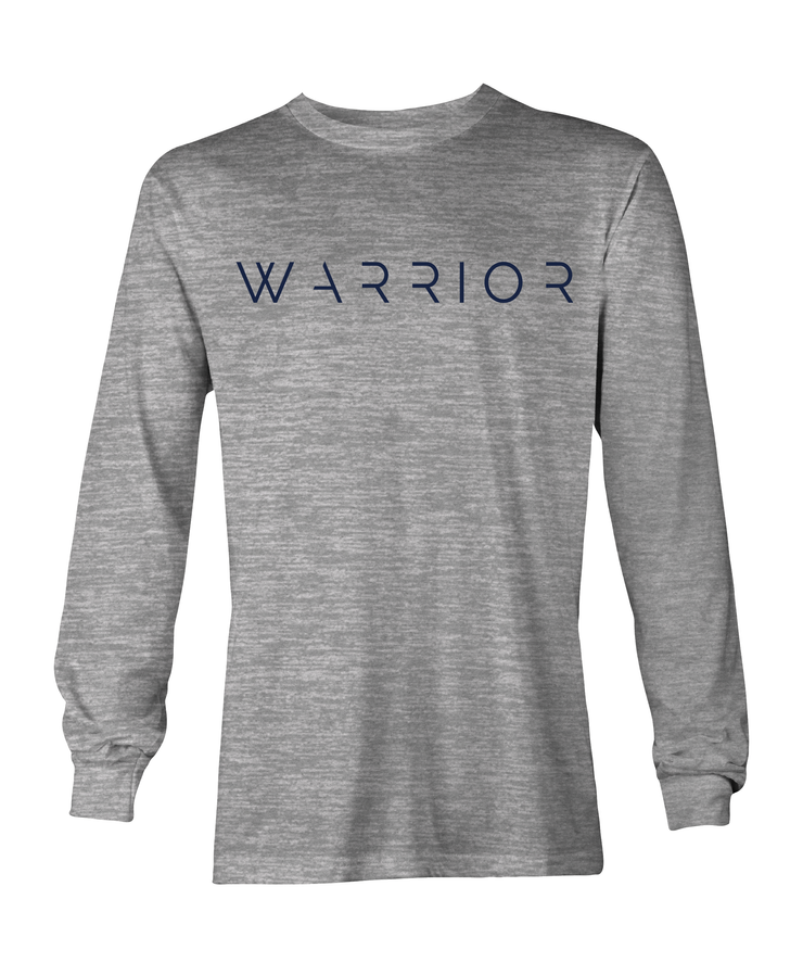Warrior Signature Long Sleeve Dri-fit Silver