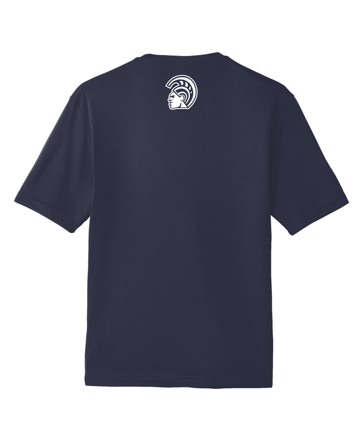 Warrior Signature Short Sleeve Dri-Fit Navy