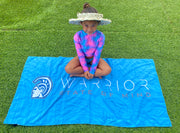 Warrior State of Mind Microfiber Beach Towel with Bag