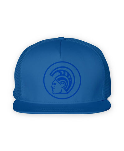 Warrior Helmet Trucker Hat - Warrior State Of Mind