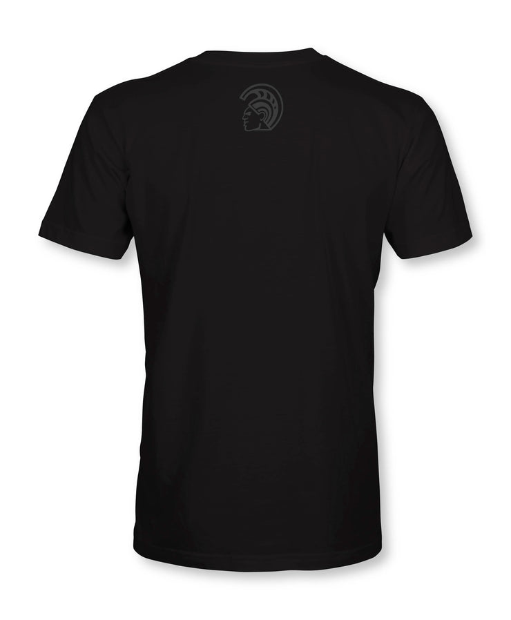 Warrior Signature Black T-Shirt - Warrior State Of Mind
