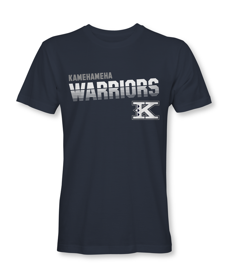 Kamehameha Warriors Slanted T-Shirt