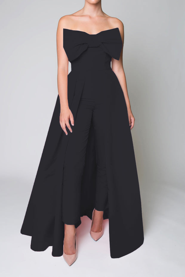 Bettina Jumpsuit with Convertible Skirt