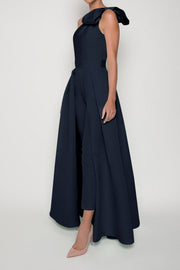 Blair Jumpsuit with Convertible Skirt
