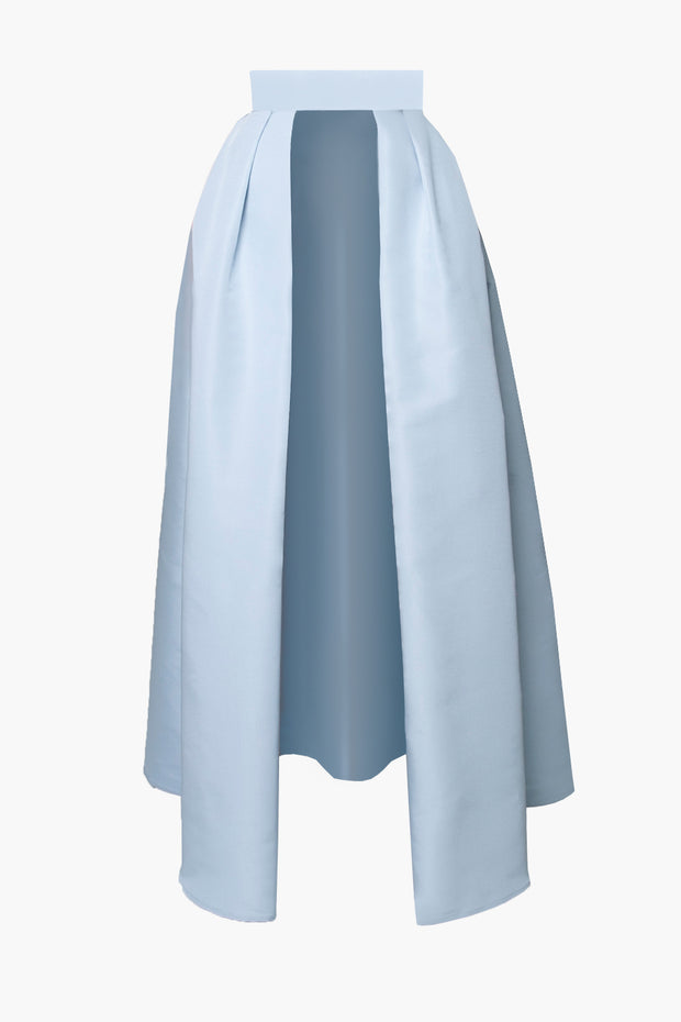 Silk Faille Convertible Skirt