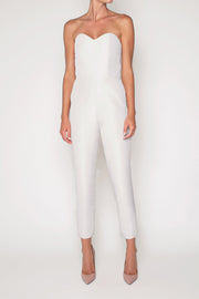 Emily Silk Faille Jumpsuit