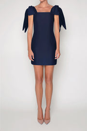 Gracie Silk and Wool Mini Dress