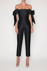 Isabella Silk and Wool Jumpsuit
