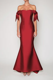 Julia Silk and Wool Mermaid Gown