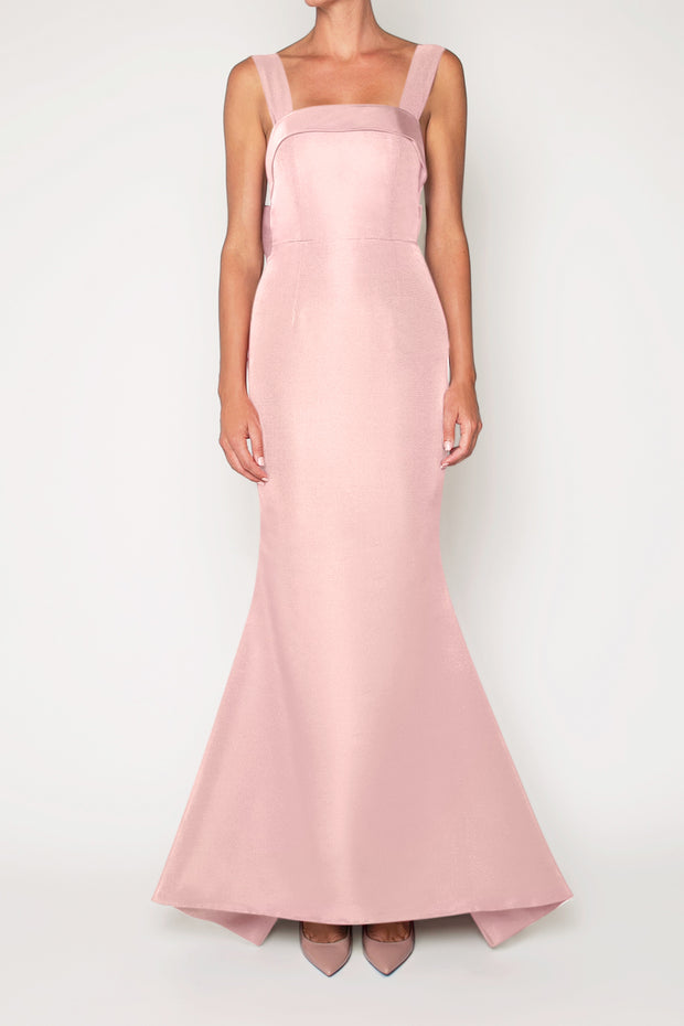 Laura Silk Faille Mermaid Gown