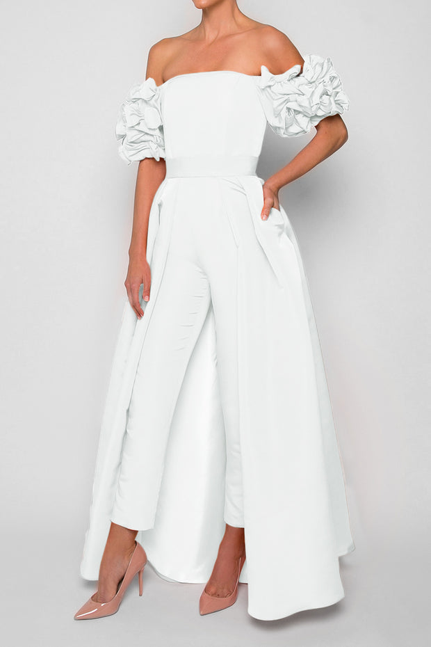 Olivia Jumpsuit with Convertible Skirt