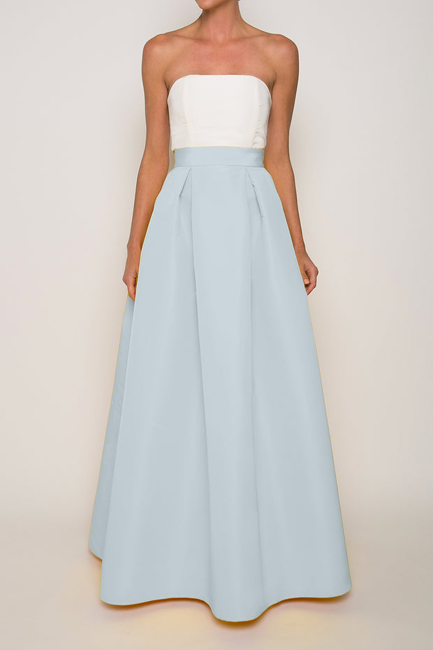 Silk Faille Full Skirt