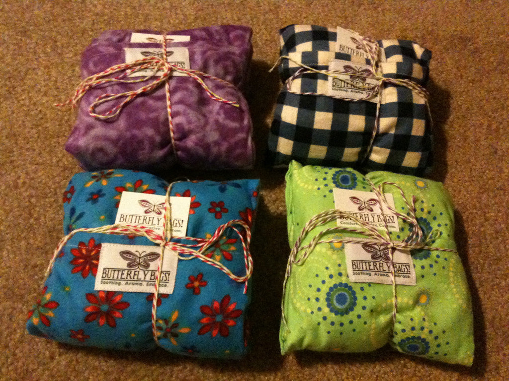 Rice Bags with Washable Cover