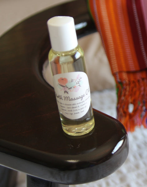 Birth Massage Oil-Natural Remedies-Birth Supplies Canada