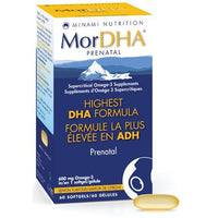 MorDHA Prenatal Omega-3 Supplement