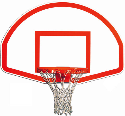 Rust-Resistant Fan-Shape Marked Aluminum Basketball Backboard
