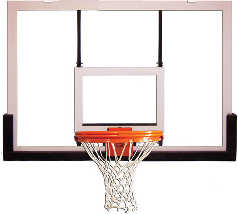 Outdoor Glass Basketball Backboard & Rim & Mounting Extension for 6 inch Pole FREE SHIPPING
