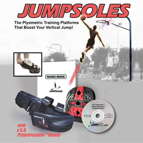 JumpSoles Plyometric Shoe Platforms Camp Demo Refurbished