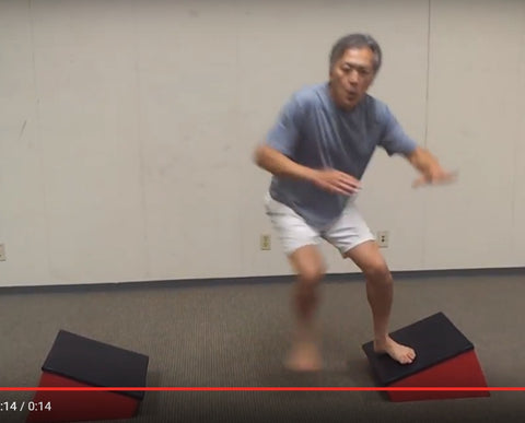 Slant Board Side Jump Angle Lateral Plyometric Plyo Boxes (6 sets of 2 = 12)