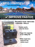 Tennis Cam Action Camera & Fence Mount