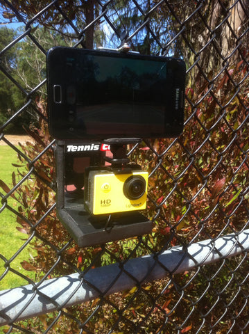 Mobile Cell Phone Mount for Tennis Cam