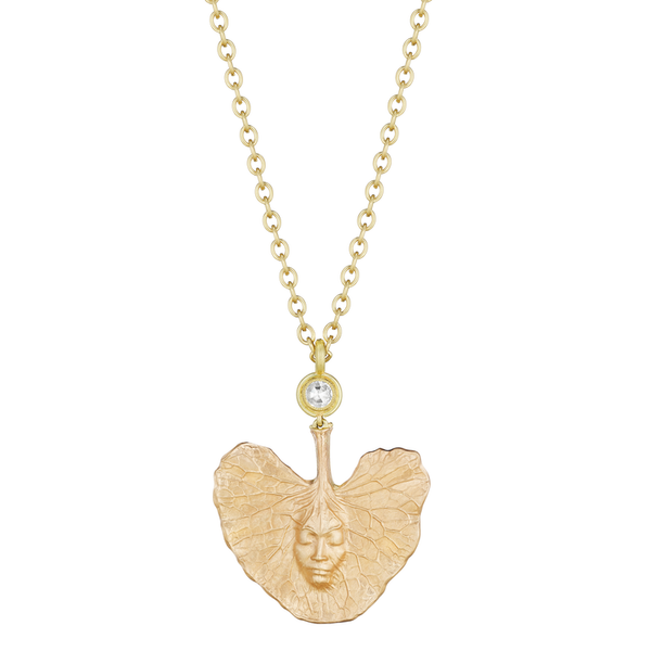 Rose Gold Shoko Leaf Necklace