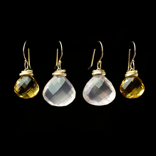 Fine jewelry designer Jamie Joseph uses natural stones, gold and silver in her hand made jewelry