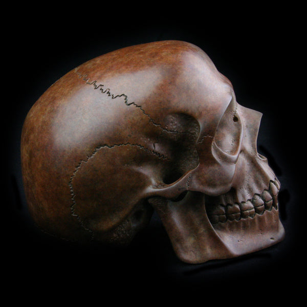 Lee Downey Art Ojects Cast or Hand Carved from Natural or Reclaimed Materials like Metal, Mineral, Fossil and Bowling Balls