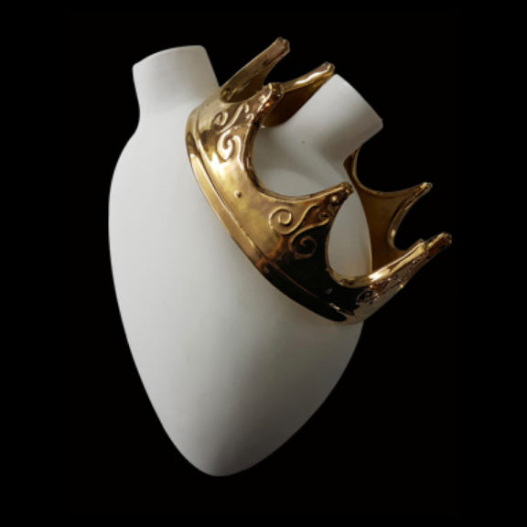 Majesty Anatomical Heart Vase